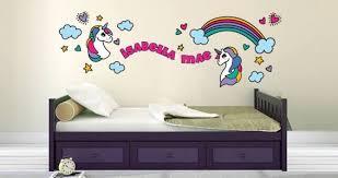 Custom Cute Unicorn Wall Decals Dezign With A Z