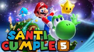 Yoshi Mario Bross Video De Invitacion O Cumpleanos De Para