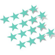 Mint Green Stars Vinyl Wall Decals Shapes Patterns Decalvenue Com Decal Venue