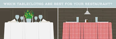 which tablecloths are best for your