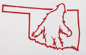 Bigfoot Oklahoma Sticker