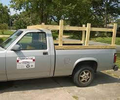truck bed rail sides for hauling 4