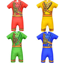 Ninja Ninjago Costume Boys Girls Clothing Sets Kids Boy Lloyd Jay Kai  Cosplay Jumpsuits Halloween Party Clothes Suit With Weapon|Boys Costumes
