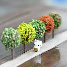 lot miniature tree plants fairy garden