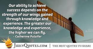 knowledge and experience quote picture