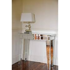 mirrored console table co uk