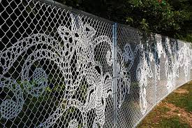 Chain Link Fence Lace Weaving Warefence