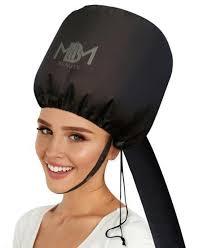 upgraded soft bonnet hooded hair dryer