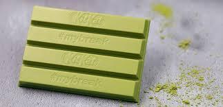 kitkat green tea matcha brings flavor