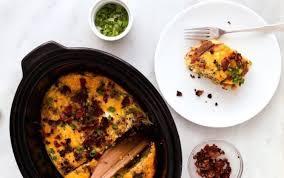 bacon egg hash brown cerole