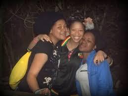 Birds of Eden 17 - Julie Jacobs, Tania and Yollanda van der Mbovu - LOVE  KNYSNA