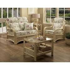 cane rattan conservatory coffee table