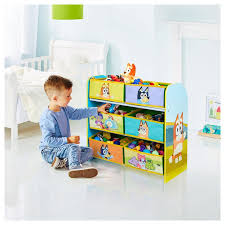 Bluey Kids Bedroom Toy Storage Unit Moose Toys