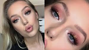 rose gold makeup tutorial you