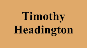 Timothy Headington - YouTube