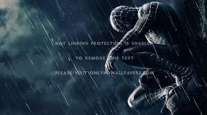 rain spider man spiderman 3