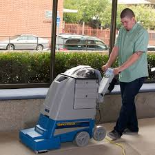 self conned carpet extractors