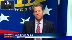 Kemp defends not ordering all Georgians ...