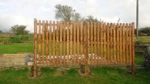 The Great Wooden Wall Of Wales Allotment Garden Diary