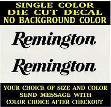 2x Remington Die Cut Vinyl Decal Car Truck Window Laptop Safe Gun Case Sticker Ebay