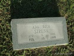 Ada Beck Strunk (1906-1998) - Find A Grave Memorial