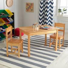 Kidkraft Kids 3 Piece Wood Table Chair Set Reviews Wayfair