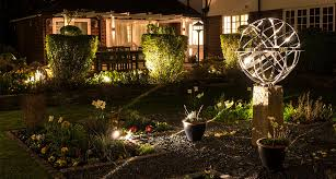 garden lighting design installation