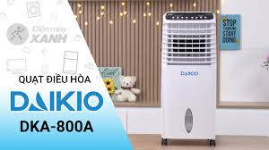 Quạt điều hòa (Quạt hơi nước) Daikio DKA-800A - Điện máy XANH