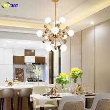 modern chandelier glass led lamp design