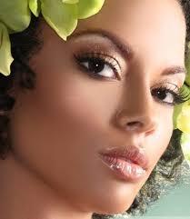 exotic copper eye makeup