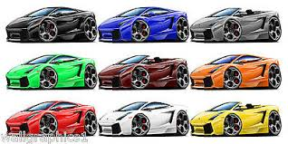 Fat Cat Wall Graphics 2004 7 Lamborghini Gallardo Decal Sticker Garage Posters 36 99 Picclick