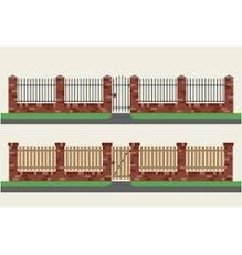Brick Gate Vector Images Over 2 200