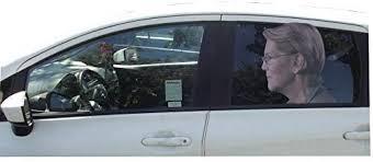 Amazon Com Aahs Donald Trump Decals Car Stickers Funny Left Window Peel Off Political Elizabeth Warren Kitchen Dining