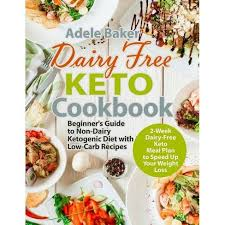 Dairy Free Keto Cookbook - By Adele Baker (Paperback) : Target