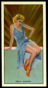 Cigarette Card - Actress, Polly Walters | Godfrey Phillips c… | Flickr