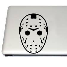Hockey Mask Horror Vinyl Decal Sticker Free Us Shipping For Car Laptop Tablets Etc