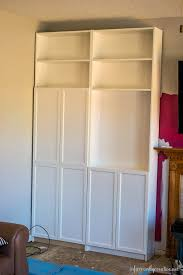 installing ikea billy bookcases