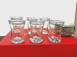 turkish tea glass set of 12 pcs 6