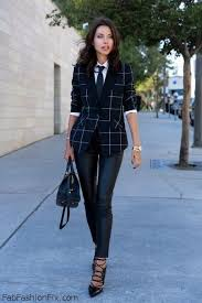 style and wear leather pants