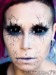fallen angel halloween makeup beautylish