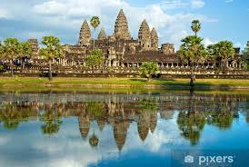 Angkor Wat Siem Reap Cambodia Sticker Pixers We Live To Change