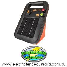 Gallagher 1km S10 Portable Solar Electric Fence Energizer Electric Fence Australia