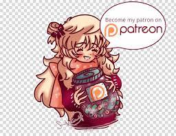 Tip jar Drawing, Aaron Dismuke, food, manga, cartoon, fictional ...