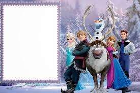 Frozen Tarjetas O Invitaciones Para Imprimir Gratis Ideas Y