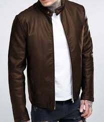 genuine mens leather jackets at