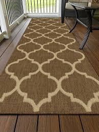 indoor outdoor jute backing runner rug