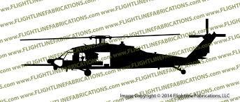 160th Soar Mh 60l Dap Blackhawk Helicopter Profile Vinyl Die Cut Sticker Decal Vspmh60l