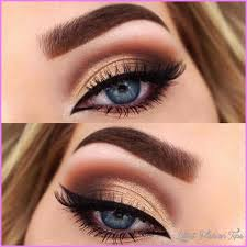 cute makeup ideas for dark brown eyes