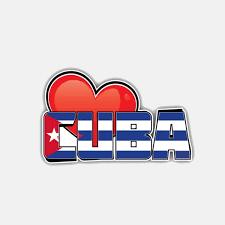 11 4cm 7cm Personality Cuba Heart Flag Motorcycle Helmet Decal Car Sticker 6 3025 Wish