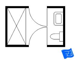 jack and jill bathroom floor plans